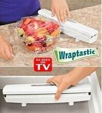 2015 Neuheiten Dispenser Kunststoff wrap/Konservierungsmittel Film Lebensmittel Vakuum Cutter Für Folie Oder Frischhaltefolie Küche Zubehör