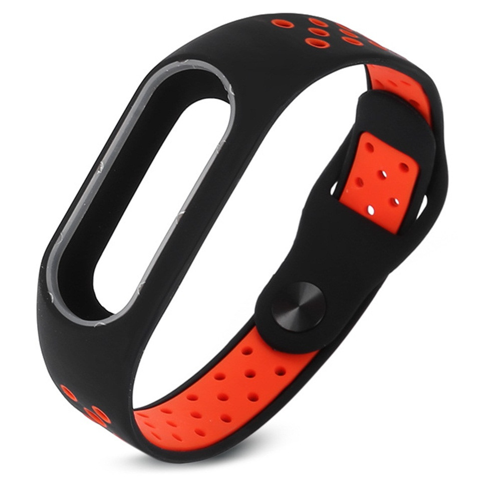 Hot! Hot! Hot! 2017 Fashion Lightweight Ventilate Smart Wrist Strap Wristband For Xiaomi Mi Band 2 dropshiping Y7810 hot