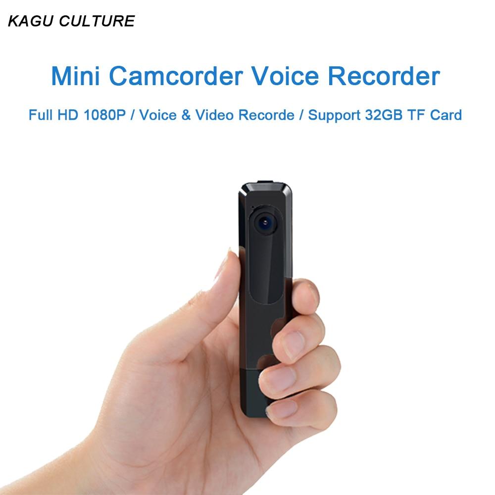 Full HD 1080P Mini Camera Digital Micro Cam Camcorder Charing&Uninterrupted Recording Pen Voice Video Recorder Car Sport DV