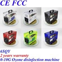 CE EMC LVD FCC enchufe de fábrica BO-1030QY 0-10 g/h 10 Gram ajustable generador de ozono máquina de desinfección