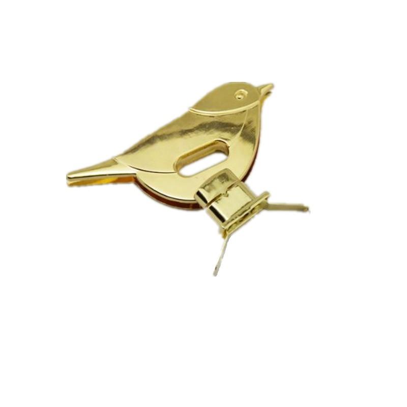 Cute Bird Turn Lock Snap Bag Accessories Buckle Twist Turn Lock Snap Clasps Closure DIY Purse Metal Hardware 100pcs via DHL /EMS