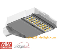 led street lights waterproof 30W MeanWell LED driver 85 265V pure white 5500 6500K lamp street free shipping