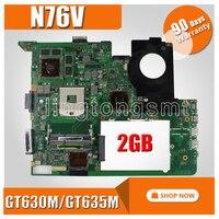Placa-mãe do portátil de gt630m/gt635m/gt740m para For Asus n76vj n76vb n76vz n76vm rev: 2.2 usb 3.0 totalmente testado teste de placa principal ok