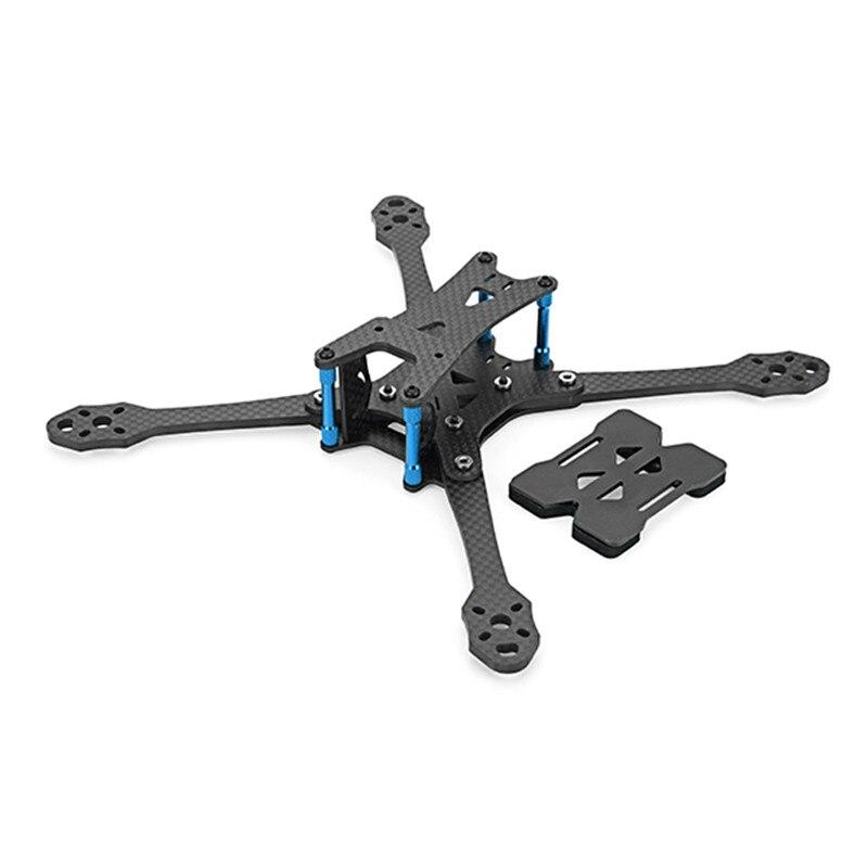 Minibigger Racer 255 мм 275 мм углеродного Волокно 4 мм ARM Рамки комплект W/Гаечные ключи Инструменты для модели RC камера Двигатель запасных Запчасти