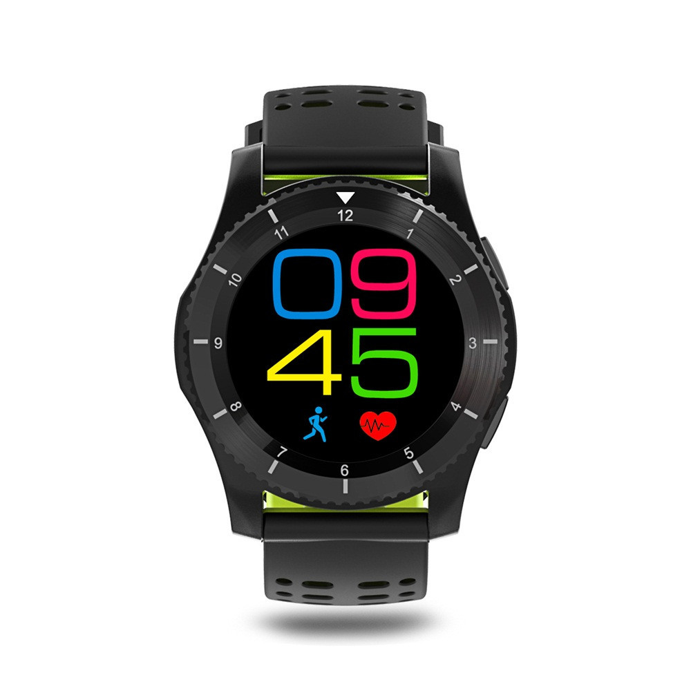 Wrist-Watch Blood-Pressure-Heart-Rate Android-System Bluetooth Waterproof Smart Fashion