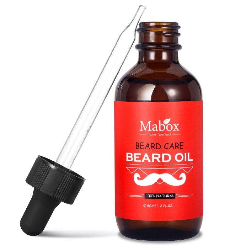 Original Beard Growth Essential Oil Mustache Grow Stimulator 100% Natural Accelerate Beard Growth Oil Facial Hair Grow Oil 60ml