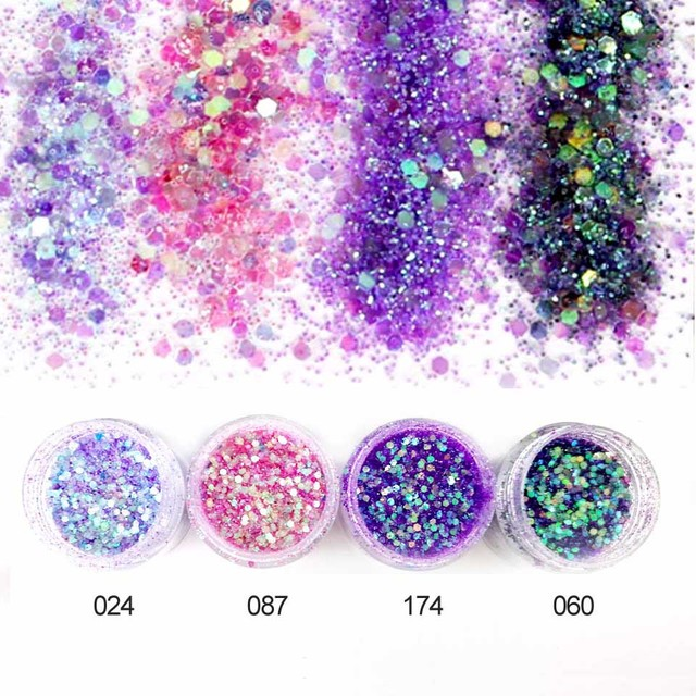 glitter powder sequins for nail dust shine powder for nail glitter