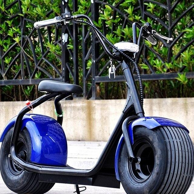 Scooter Elettrico Monopattino Elettrico Tipo Harley