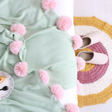 New Knitted Blankets Warm Plush Blanket Soft Blanket on the Bed Home Plane Travel Coperta Throws for Sofa Cobertor Bedspreads modern solid white tassel throw blanket jacquard knitted soft sofa blankets cotton blanket on travel plane home textile cobertor