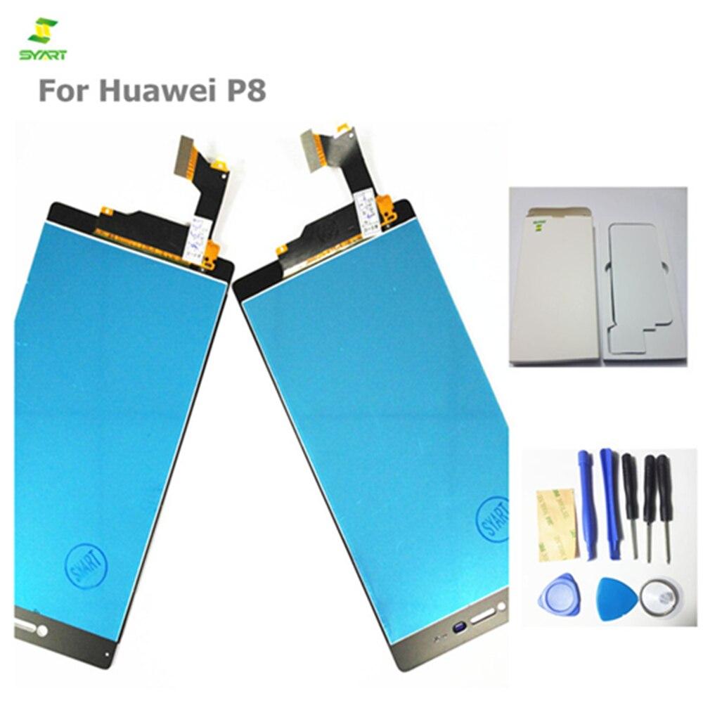 Écran lcd 5.2 pouce Pour Huawei P8 GRA_L09 GRA_UL00 GRA-L09 GRA-UL00 Téléphone À Écran Tactile Lcd Digitizer Assemblée Pièce De Rechange