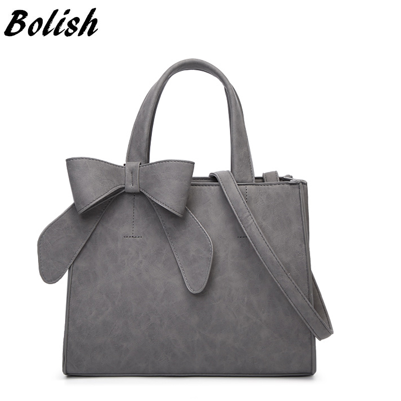 Bolish Drop shipping Vintage Shoulder Bag Female Causal handbag Lady Daily Shopping Crossbody Bag Bolsa Feminina De Marca Famosa Сумка