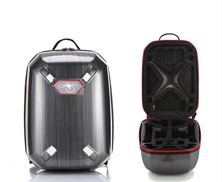 Prix pour 2017 phantom 3 Rigide Sac À Dos Épaule Carry Case Dur Shell Boîte pour DJI Phantom 2 3 s Standard FPV Drone Quadcopter