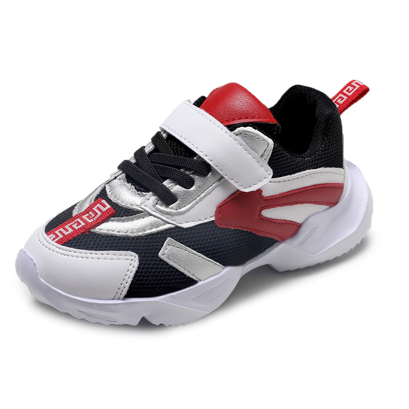 Bekamille Children Sports Shoes Autumn Kids Shoes for Girl Sneakers Fashion Colored Matched Mesh Breathable Infant Boys Shoes