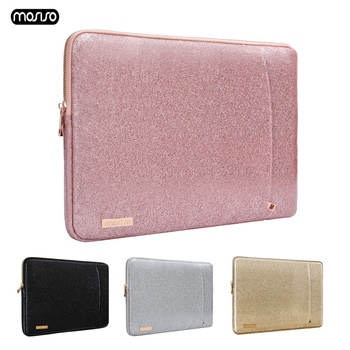 цена на MOSISO Laptop Sleeve Bag for Macbook Dell HP Asus Acer Lenovo Surface Notebook PU Case For Mac Air 13 inch Pro 13 Retina Cover