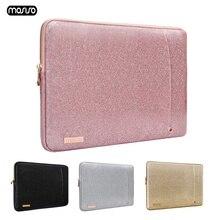 MOSISO Super brillant PU sac pour ordinateur portable porte documents pour MacBook Pro Air Retina 13 13.3 pouces étanche femmes portable sac à main