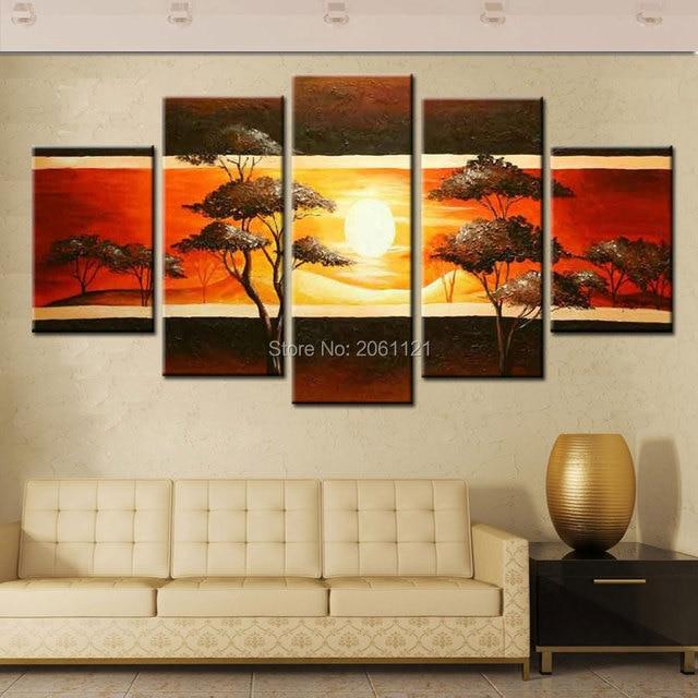 decoracao de interiores estilo handmade:100% Handmade abstrata moderna pintura a óleo sobre tela de arte de