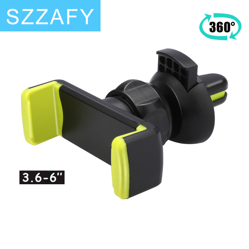 universal phone holder stand 360 adjustable air vent monut GPS car mobile phone holder for iPhone 7 5s 6s Plus Samsung S7