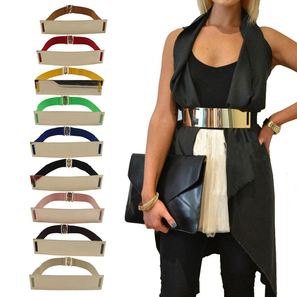 Windreama Femmes Faux Cuir Ceinture Bowknot Cor... prix  0.99 Windreama  Fashion New Mirror Golden Metal Waist Be. 23b3d1a0cf0