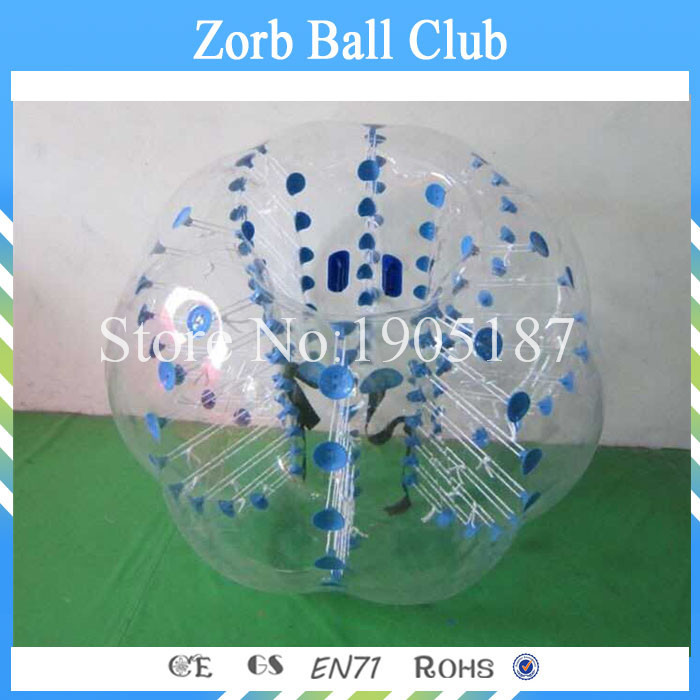 Envío gratis TPU burbuja fútbol 1.2 m rojo o azul, bola Loopy, - Deportes y aire libre - foto 5
