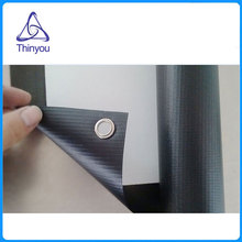 Thinyou 60 inch Simple 16:9 Projector HD Screen Portable Folded Front Projection Screen Fabric with eyelets Projector Screen