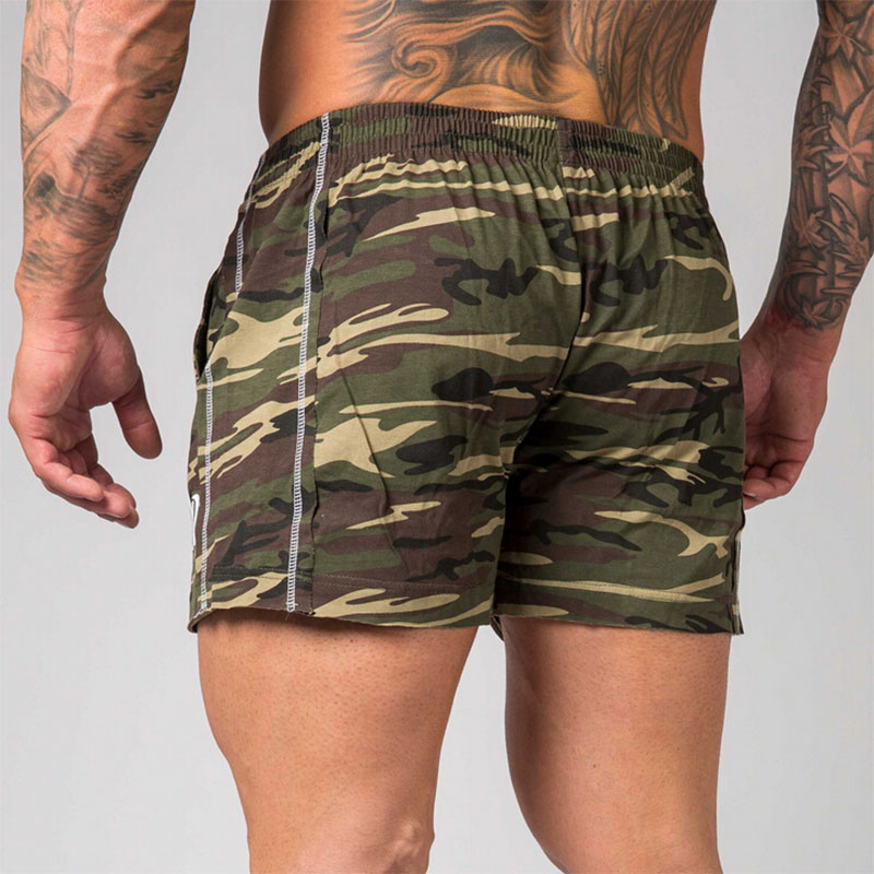 Camouflage Shorts low waist men casual Trunks