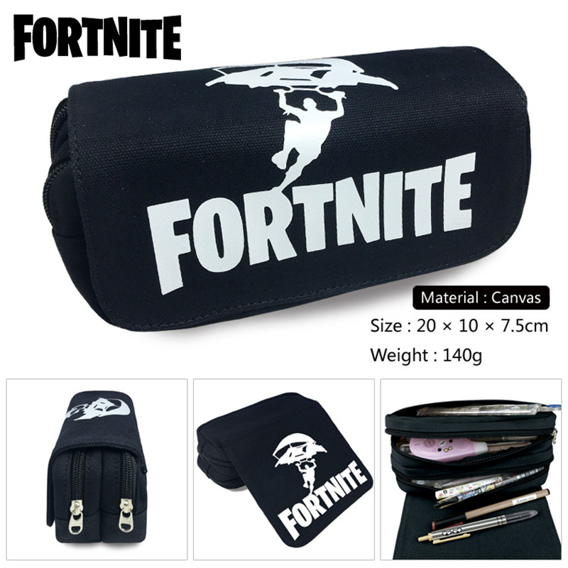 Fortnite Roblox Unicorn Wallet Bag Zipper Pencil Case Cosmetic Pouch Students Wallet Purse Bag Boys Girls Gift