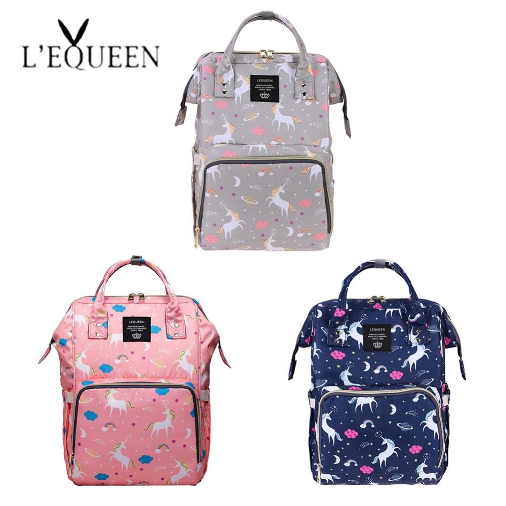 655eae7d4e Mummy Maternity Nappy Bag Large Capacity Diaper Bag Nursing Bag for Baby  Care Travel Backpack Designer Unicorn Pattern Backpack