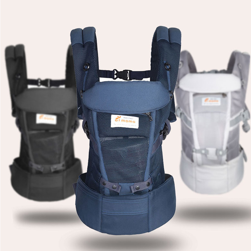Ergonomic Baby Carriers Backpacks 5 36 months Portable Baby Sling Wrap Cotton Infant Newborn Baby Carrying