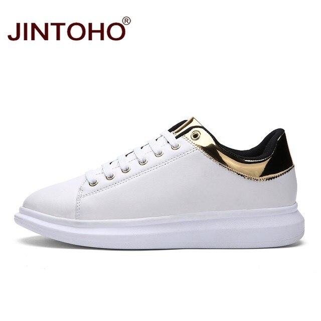 Beautiful Luxury Designer Shoes Online Part - 5: JINTOHO Brand Luxury Designer Men Shoes Casual Fashion Male Shoes  Zapatillas Glitte Leather Shoes Online Shop