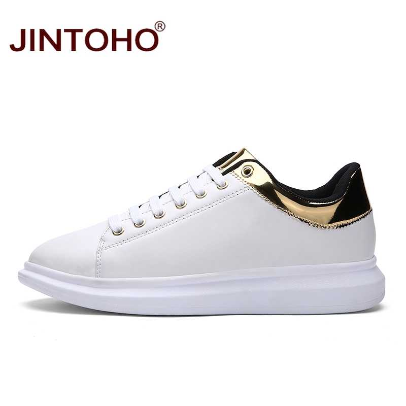 d6eb29b95f ... JINTOHO Brand Luxury Designer Men Shoes Casual Fashion Male Shoes  Zapatillas Glitte Leather Shoes Online Shop ...