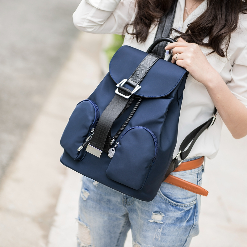 a9718387c6 Long Song Famous Brand Backpack Women Backpacks Feminina School Bags for Teenagers  Black PU Leather Women s Back Pack WB061 on Aliexpress.com