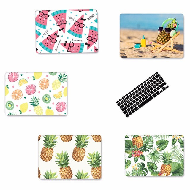 best service 2b593 dd98d US $2.35 53% OFF|New Fruit pineapple Laptop Case for Apple Macbook Air pro  11 13 15 inch hard case new 13 pro touch bar sleeve case Keyboard-in Laptop  ...