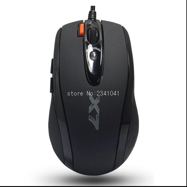 A4tech X-710K X7 V-track mouse gaming mouse programming mouse Desktop/Laptop/Notebook PC Computer Wired Mouse