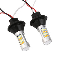 LED Chip 2PC 1156 P21W BA15S 50W 42SMD DRL Turn Signals Tail Reverse LED Light White
