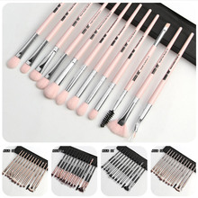 1/4/7/12pcs/lot Makeup Brushes Set Eye Shadow Blending Eyeliner Eyelash Eyebrow Brushes For Make up Professional Eyeshadow Brush цена