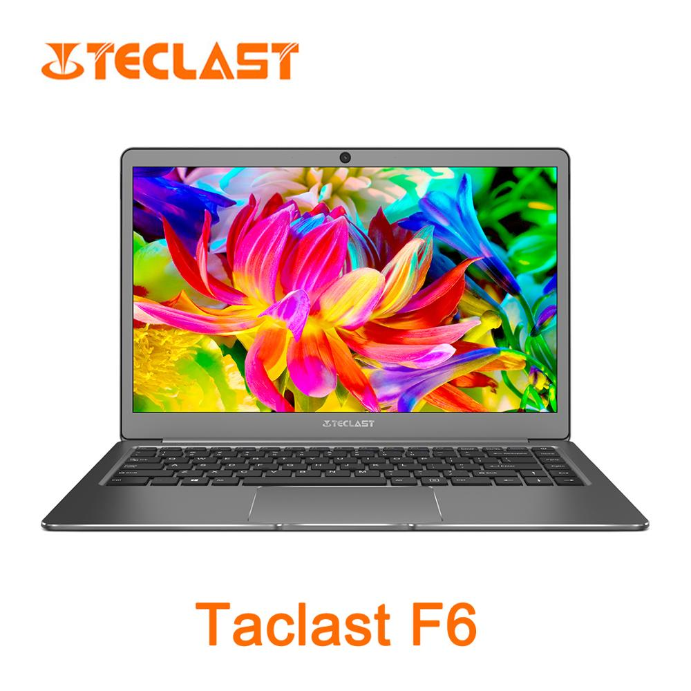 Teclast F6 13.3 Inch Intel Apollo Lake N3450 Intel Graphics 500 6G RAM128GB SSD Laptop - Silver