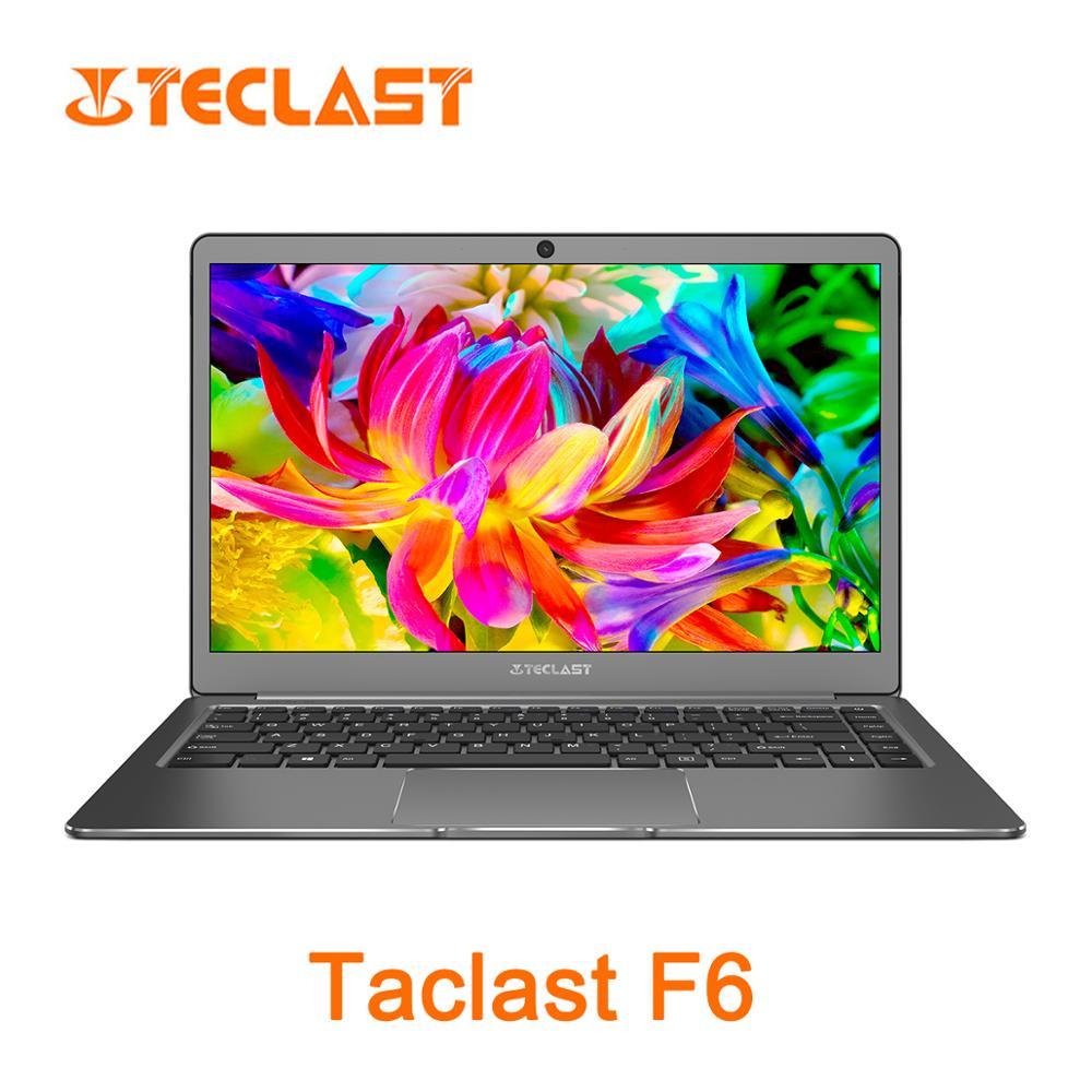 Teclast F6 13.3 polegada Intel Apollo Lago N3450 Intel Graphics 500 6G RAM128GB SSD Laptop-Prata