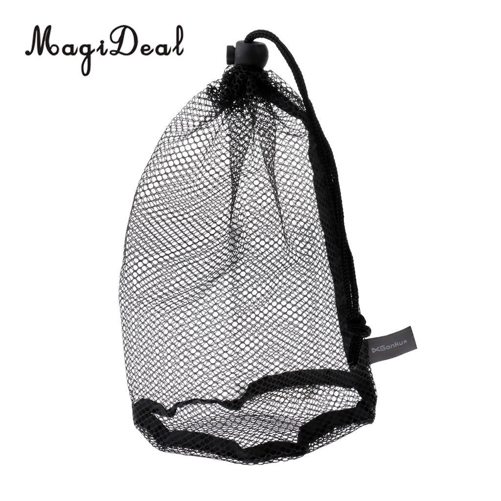 MagiDeal сеточку Гольф мяч мешок/Гольф мяч коллектор-Теннисные Мячи Сумка для хранения-черный