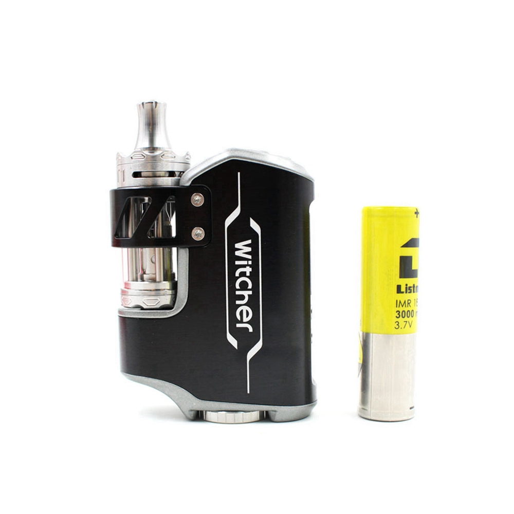 Electronic Cigarette ROFVAPE Witcher 75W Box Mod Kit and 18650 battery 3000mah 5.5ml Tank Vaporizer VS Eleaf Istick Pico 25 vape