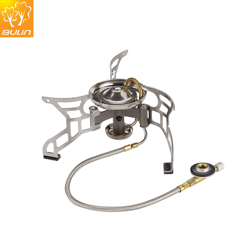Free Shipping Cooking Stove Camping Gas Stove Split type Stove X2 A