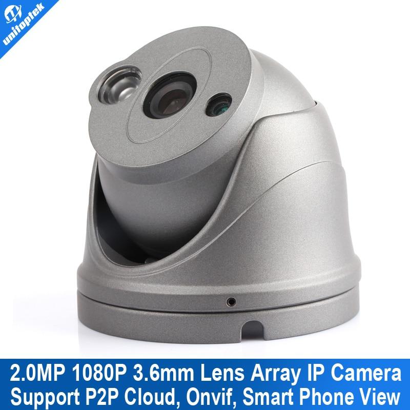 2MP Mini Dome IP font b Camera b font Onvif 1080P 25fps full HD IR Night