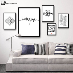 Nicoleshenting motivational quote minimalist art canvas poster abstract painting black white wall picture modern home decoration.jpg 250x250