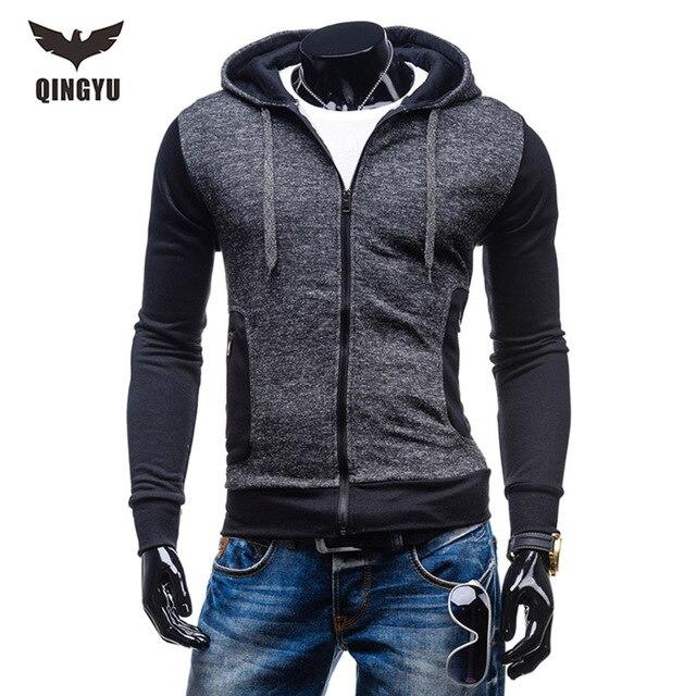 Moda con capucha Sudaderas 2018 nueva marca para hombre color sólido  Sudadera con capucha casual Sudaderas 03e9e4e52cf
