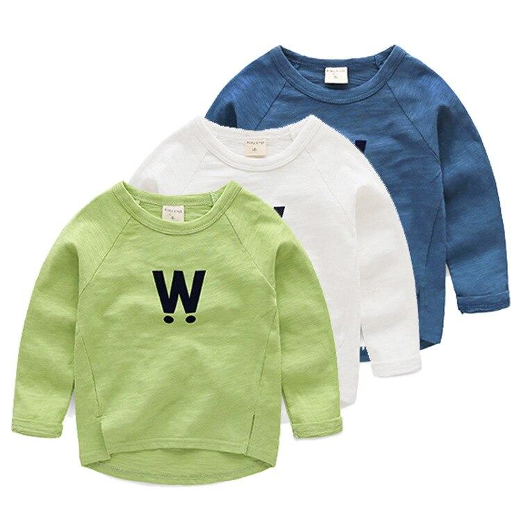 1-5 Years Baby Boys Girls Cute O Neck Letter Print Raglan Short Sleeve Tshirts Summer Patchwork Tops Blouse