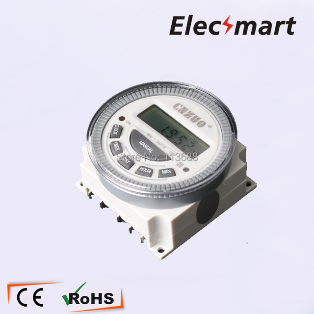 Fabulous Us 9 24 Easy Wiring Tm619 Ac 220V 240V Digital Lcd Power Timer Programmable 16A Time Switch Relay In Relays From Home Improvement On Aliexpress Com Wiring Cloud Hisonuggs Outletorg