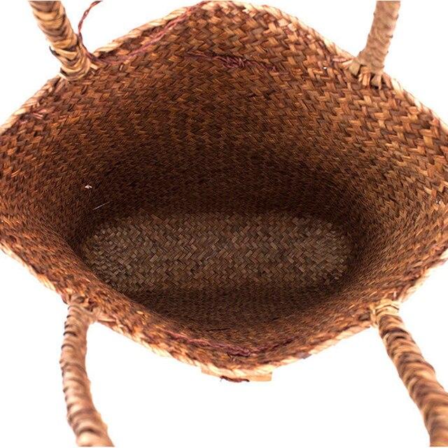 Straw Shoulder Bag Shopping 3