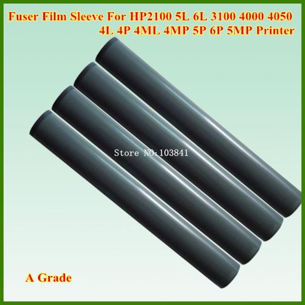 10PCS Compatible A Grade Fuser Film Sleeve for HP2100 HP 2100 5L 6L 3100 4000 4050 4L 4P 4ML 4MP 5P 6P 5MP Printer Fixing telfon