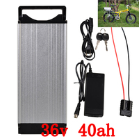 36v battery 36v 40ah lithium battery use sanyo cell 36v 40ah electric bike battery with 30A BMS and 42V 5A charget free shipping
