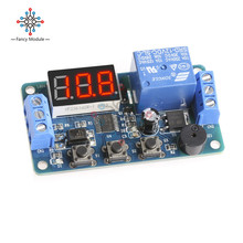 DC 12V LED Display Module Programmable Time Timer Relay