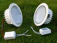 3W 5W 7W 9W 12W 15W LED Recessed Down Lights 85 265V High Power Light Lamp